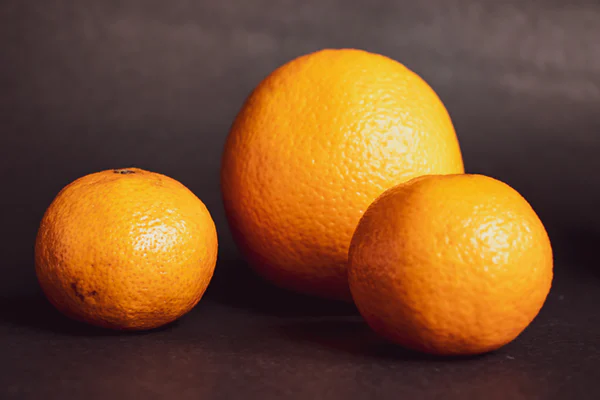 Racing with oranges
