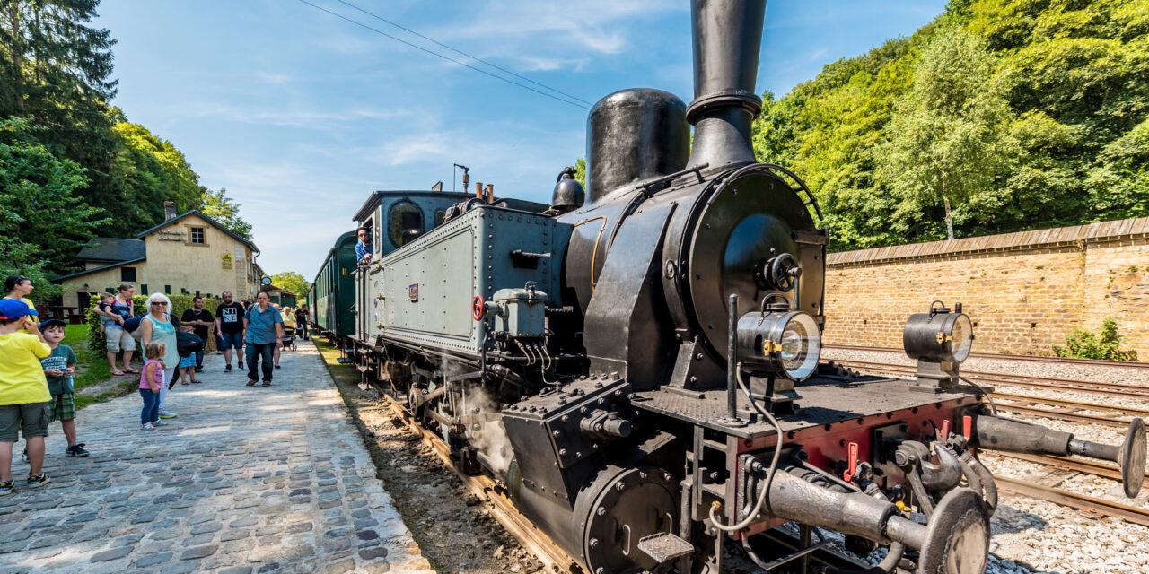 Eisenäerz, Damplokomotiven an d'Kelten
