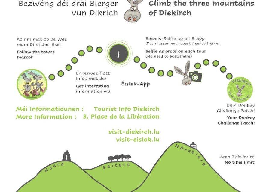 Maacht den Dikrich Donkey Challenge!