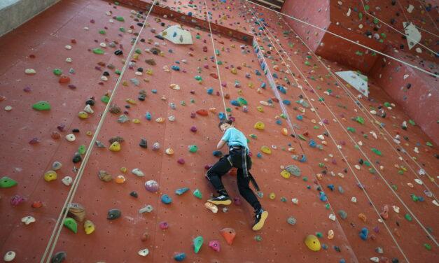 Aprender a fazer a escalada emEchternach